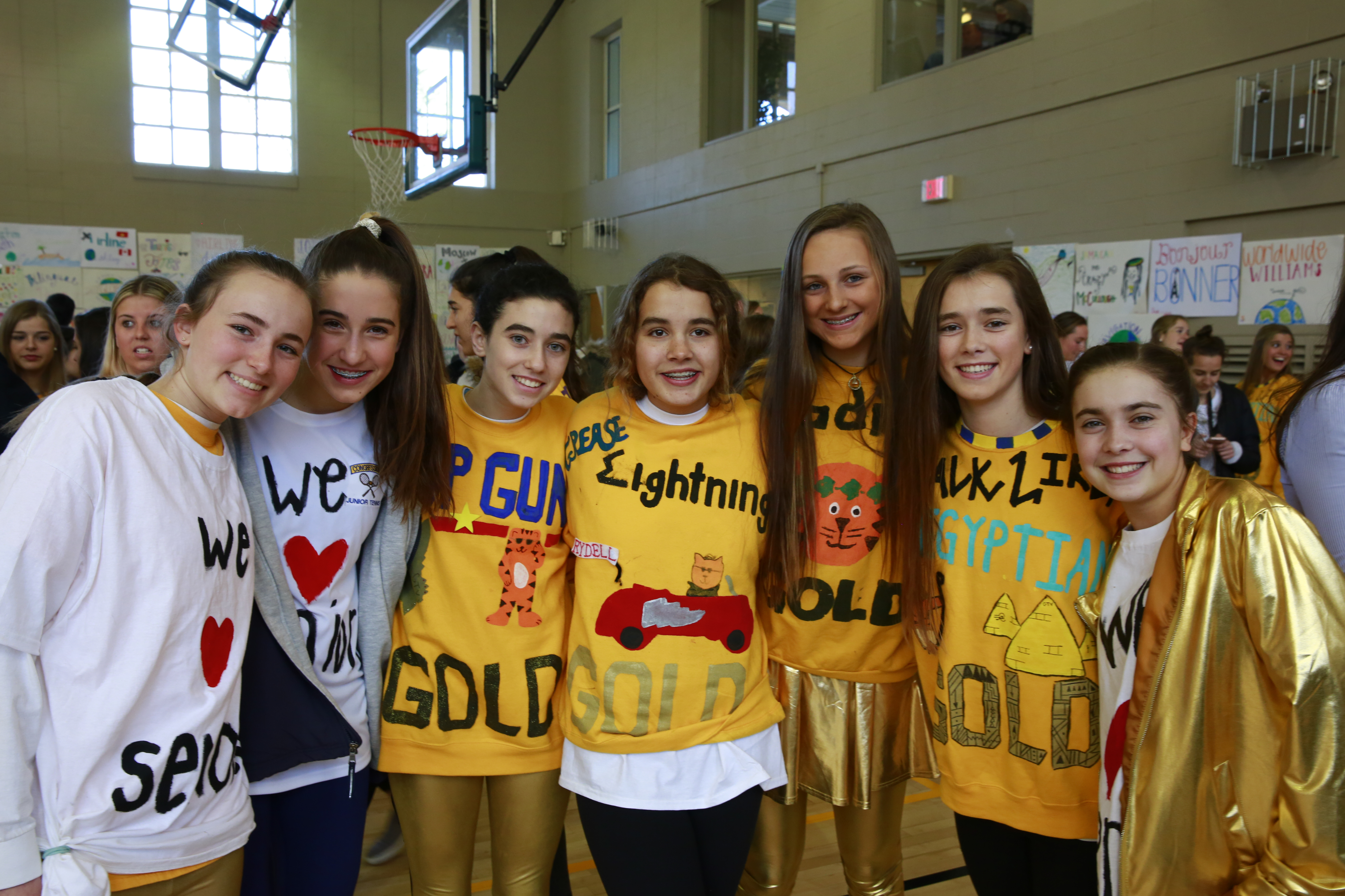 Gold-White Week: A Tradition of Spirit and Friendship