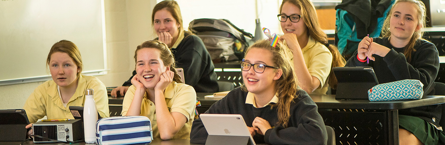 Happy Students in Class