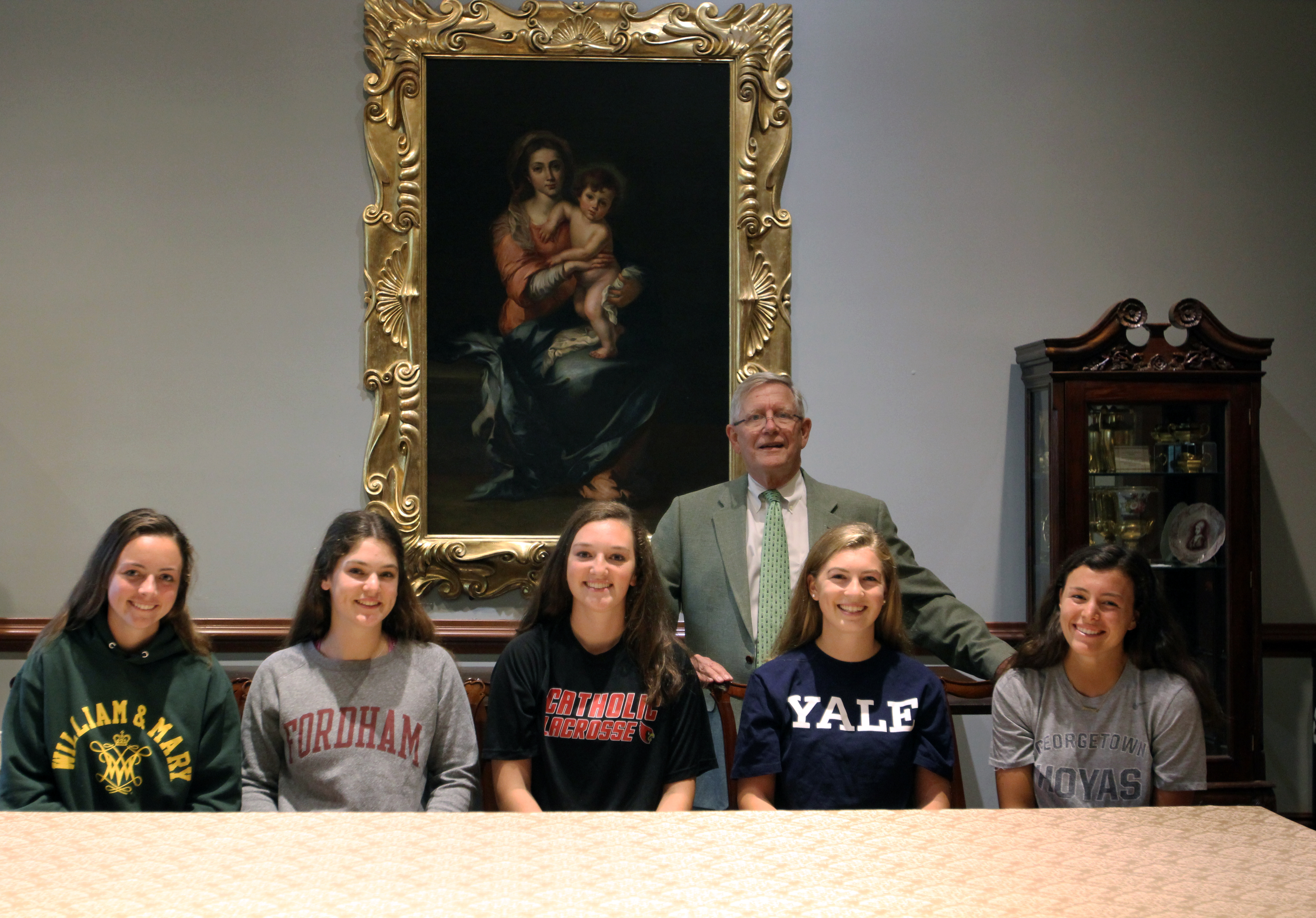 Five Visitation Athletes Signed Letters of Intent