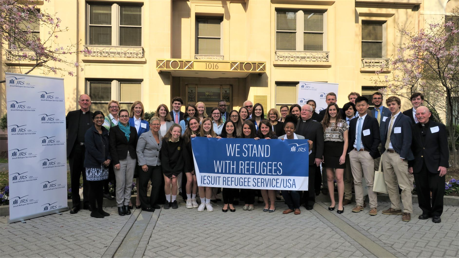 Students Advocate for Refugees on Capitol Hill