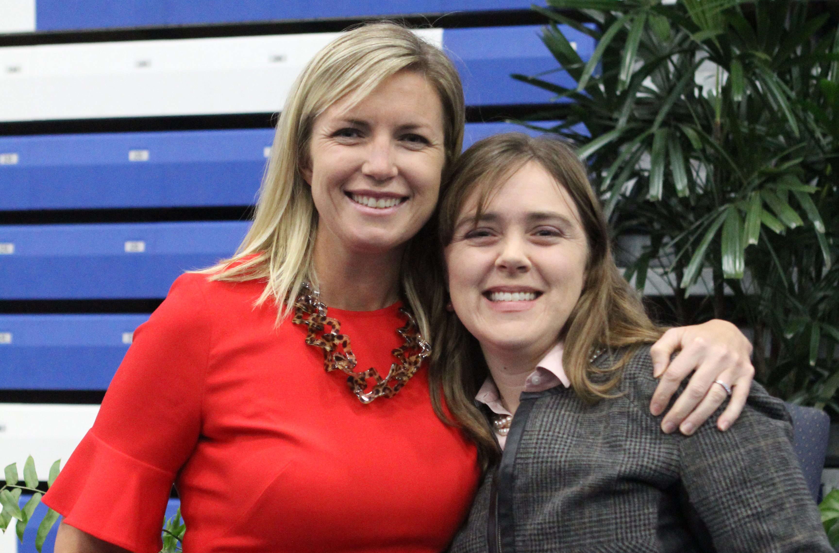 Alumnae Educators Krueger, Morris Named Teachers of the Year
